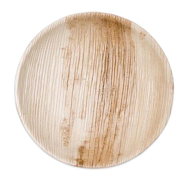 Round Plates - 6 Inch Round Flat Plate 100pcs