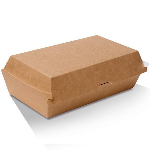 Snack Box - Large / Kraft Board  205x106x76mm  250 Pcs/ctn