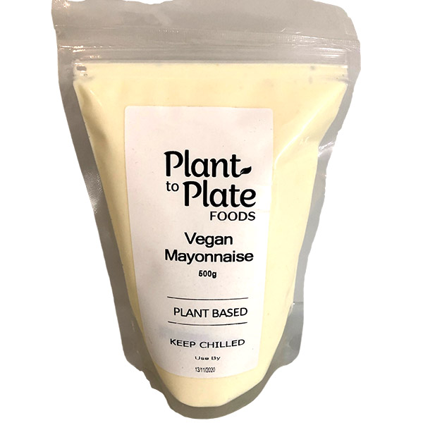 Plain Vegan Mayonnaise (500g)