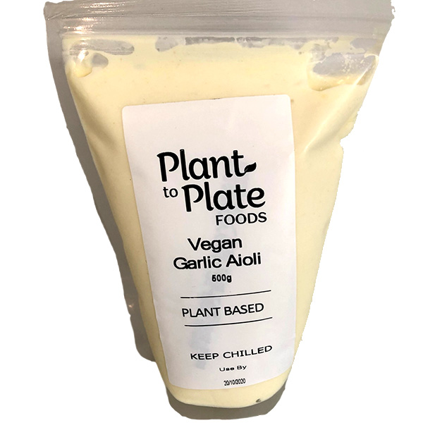Vegan Garlic Aioli Mayonnaise (500g)