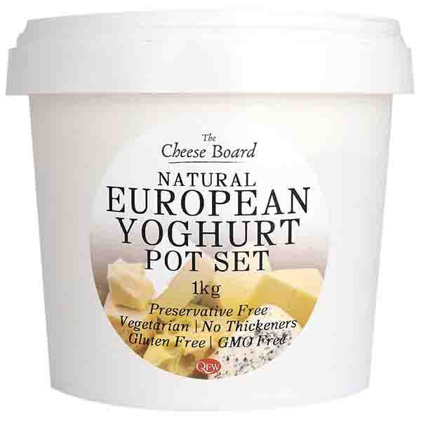 European Style Pot Set Yoghurt 1Kg