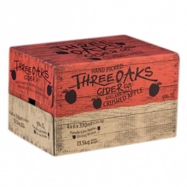 Three Oaks Cider Original Apple 24 x 330ml
