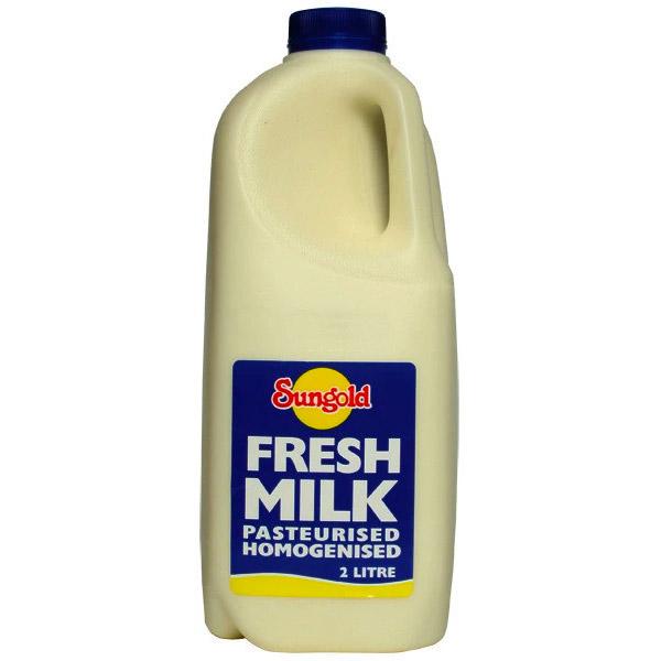 Sungold Milk Plain 2Lt