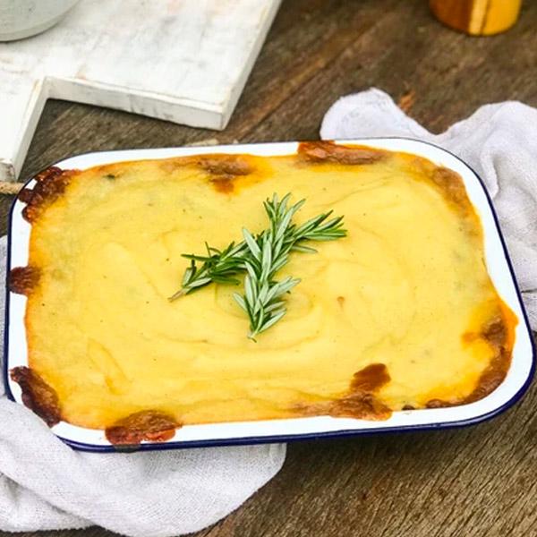 Red Wine & Lentil Cottage Pie 1kg (Aprrox Serves 4) Frozen