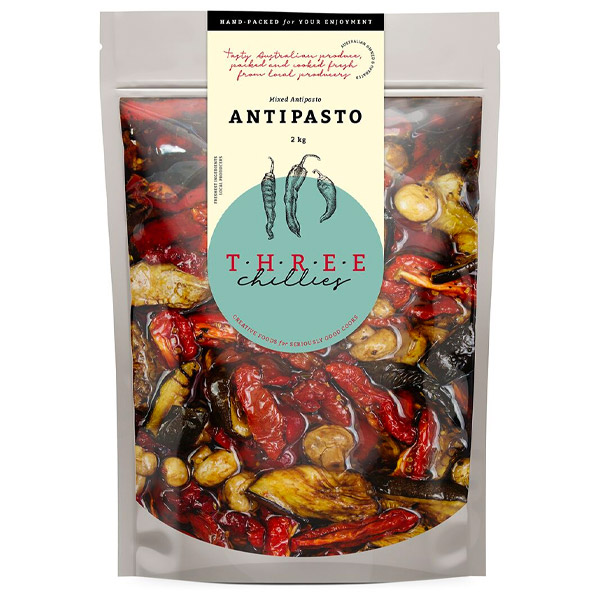 Mixed Antipasto (Mixed Veges, Canola Oil & Vinegar) - 2kg