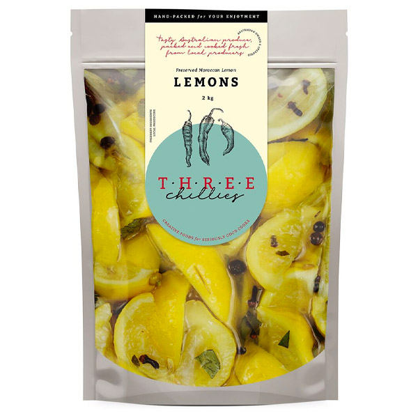Lemons-Preserved Moroccan Style (Canola Oil & Spices) - 2kg