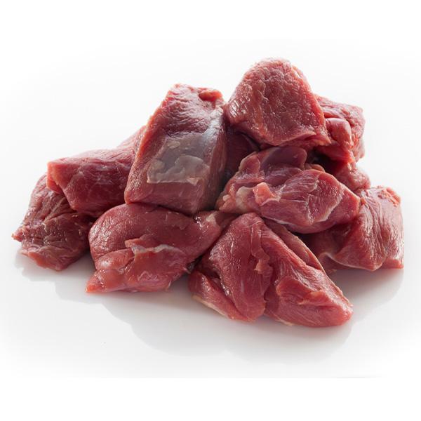 "Lamb Diced 75% Standard 1"" cut"