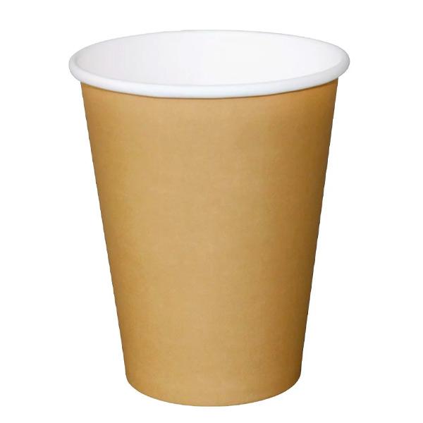 8oz Coffee Cup Single Wall Kraft (x1000)
