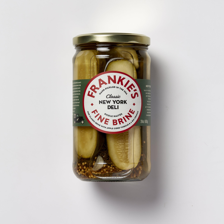 Frankie's Fine Brine (USA) NYC Deli BRONX Pickle (sliced) 19L Pail (1 Bucket)