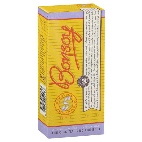Soy Milk 6x1L (Bonsoy)