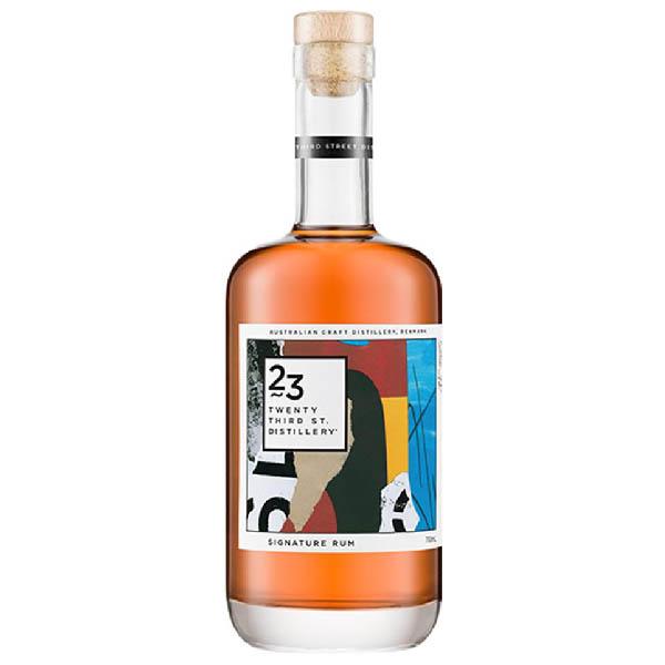 23rd Street Distillery Signature Rum (700ml) Bottle