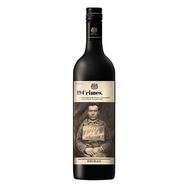19 Crimes Shiraz (6x750ml) Bottle