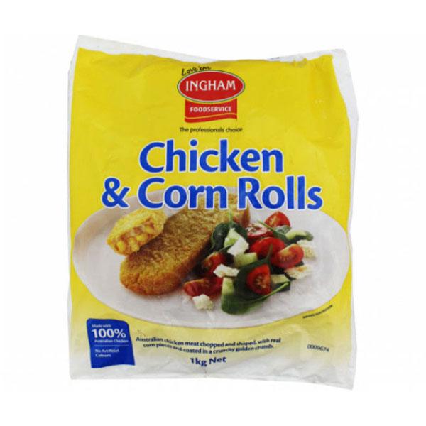 Inghams Chicken Corn Roll (5kg)