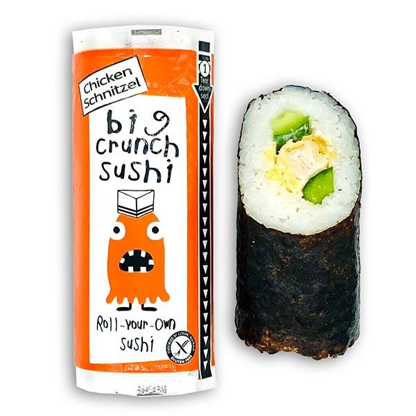 Big Crunch Roll - Chicken Schnitzel - Cucumber (135g)