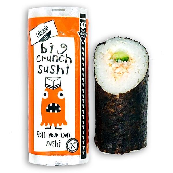 Big Crunch Roll - Prawn California - Cucumber (135g)