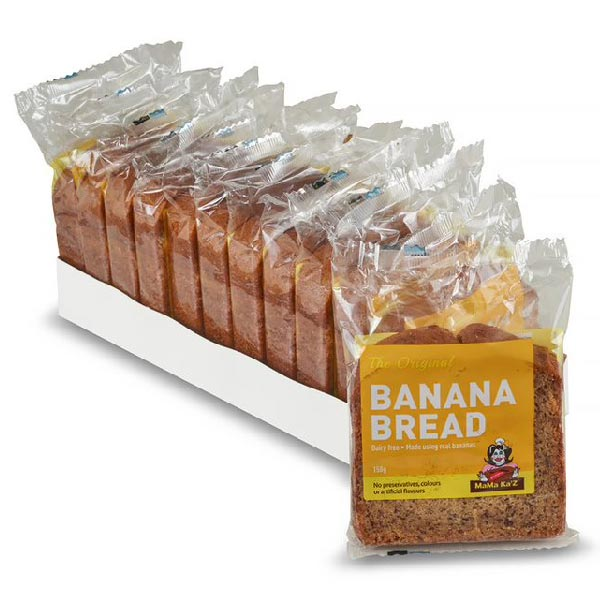 Banana Bread - Original (sliced, wrapped & labelled)