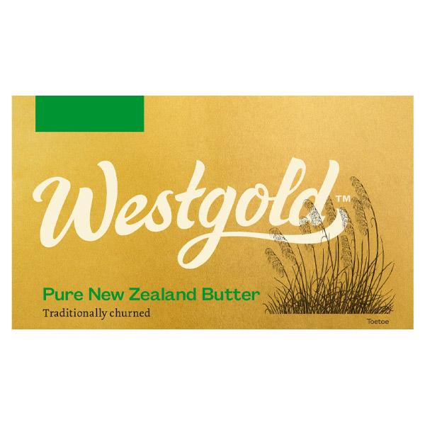 Butter Block Unsalted 1kg (West Gold)