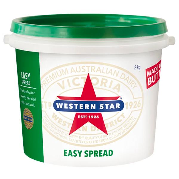 Butter Easyspread Soft 2kg (Western Star)