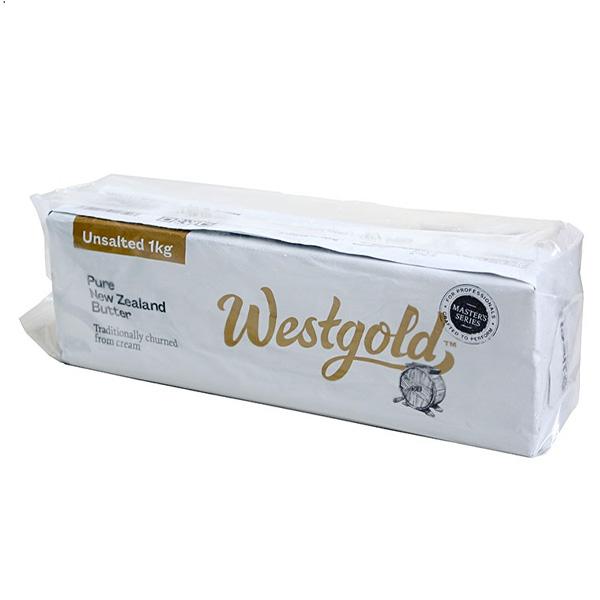 Butter Unsalted 1kg (Westgold)