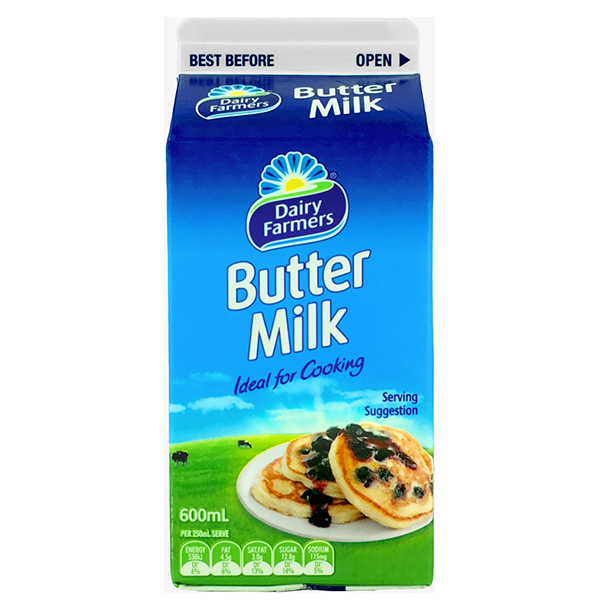 Buttermilk 600ml (Dairy Farmers)