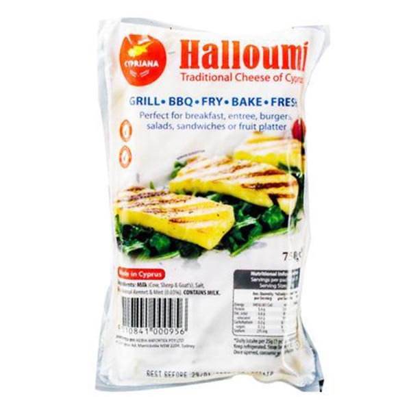 Cheese Haloumi 750Gm (Cypriana)