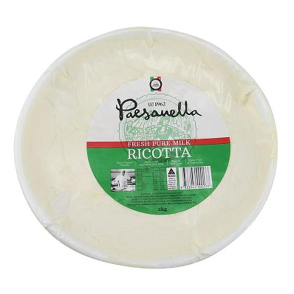 Cheese Ricotta 2kg (Paesanella)