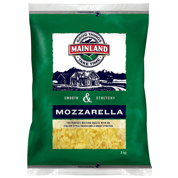 Cheese Shredded Mozzarella 2kg (Mainland)