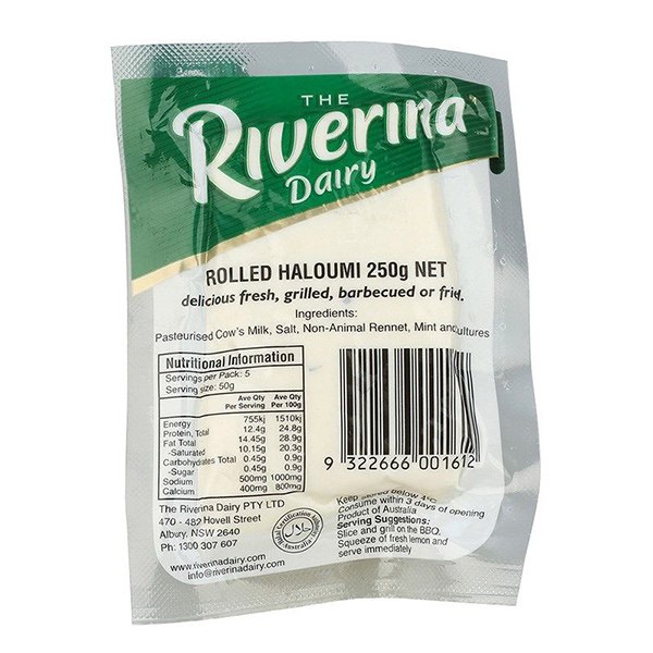 Haloumi Cheese 250gm (Riverina)