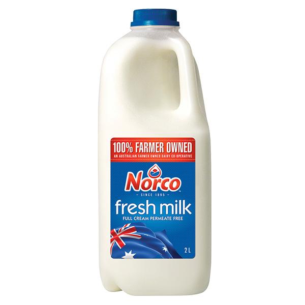 Milk Full Cream 2L (Norco)