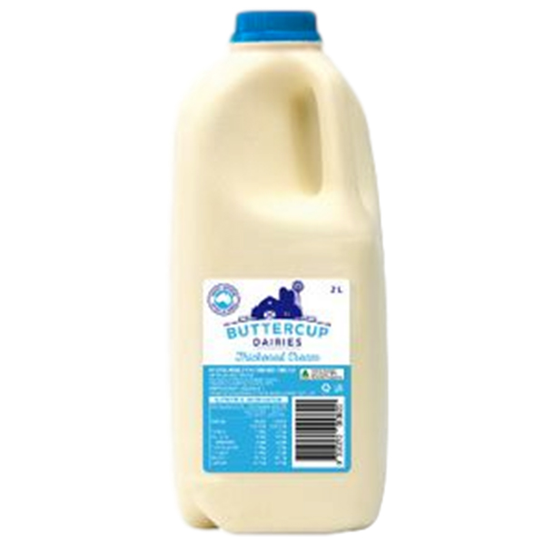 Thickened Cream 2L (Buttercup)