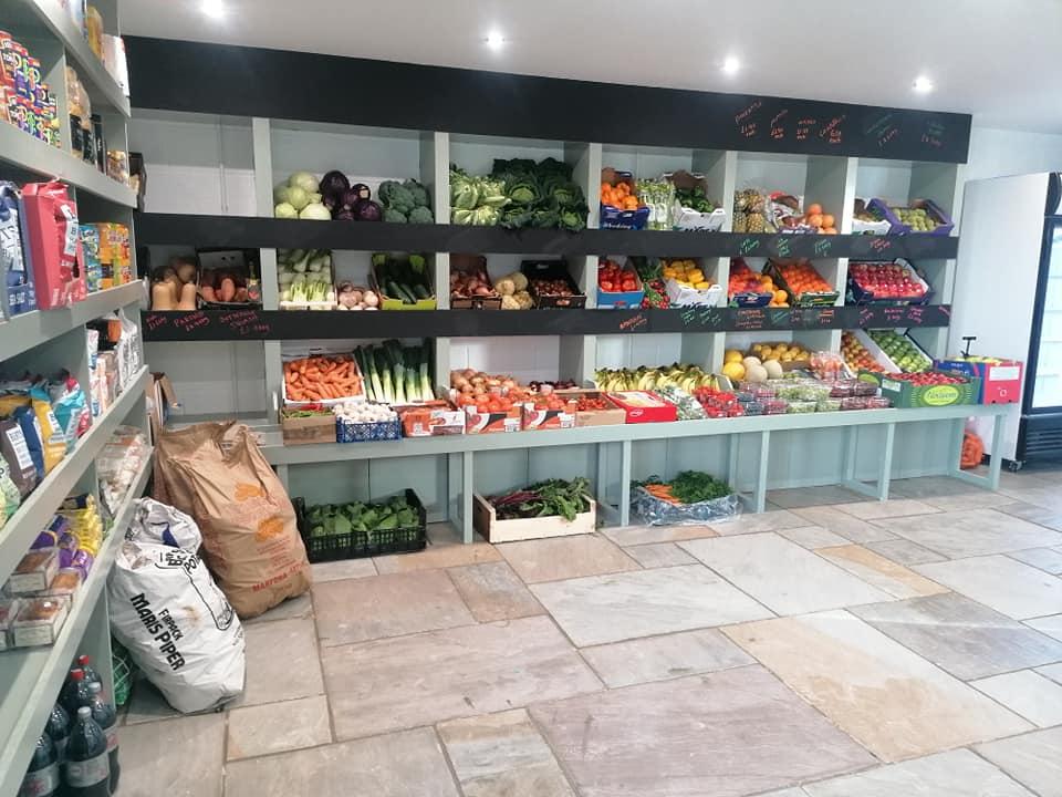 Bridgman's Farm Shop Interior