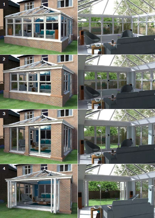 Conservatory to living Room
