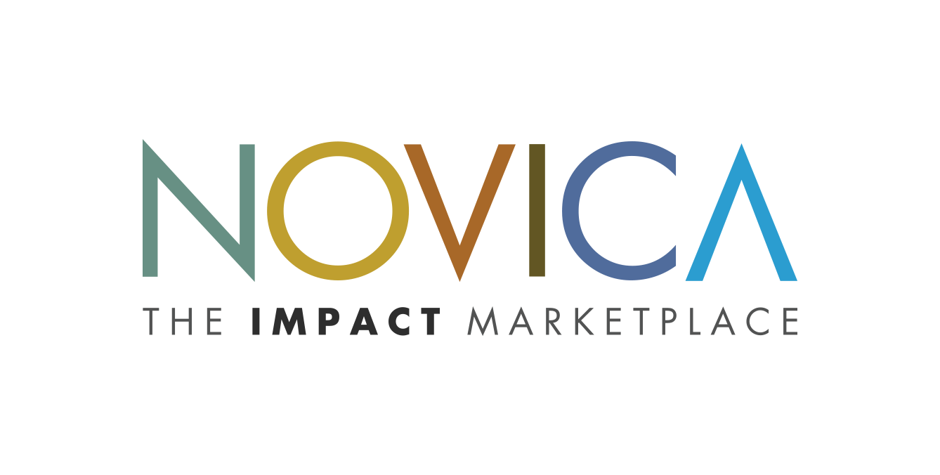 Novica logo gatsby website