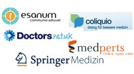 Gibt es online Austausch unter den Ärzten? Was passiert in den Communities?