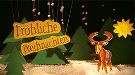 Es war einmal ... Weihnachtsgrüße aus Erlangen