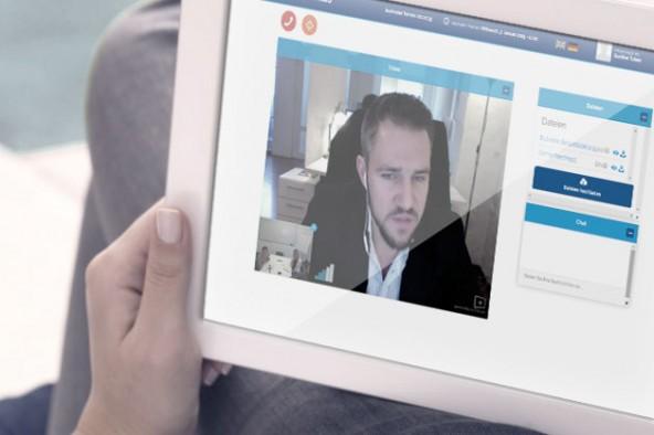 Abbildung 1: Die Plattform im Einsatz: Im Gespräch mit Nicolas Schulwitz, Gesellschafter-Geschäftsführer Patientus GmbH