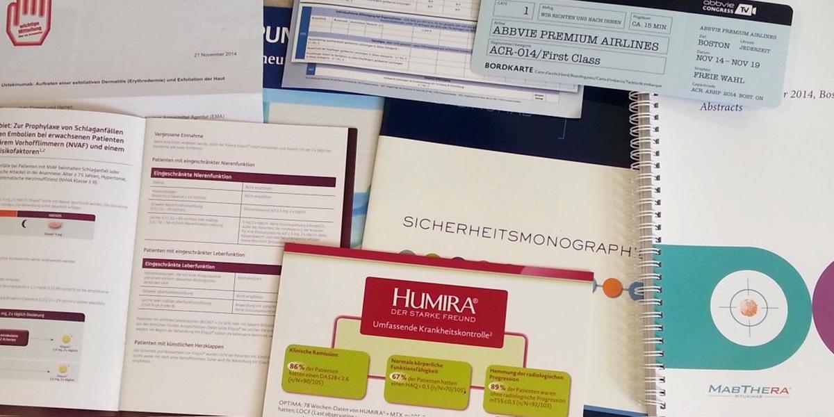 Die Zielgruppe persönlich: Ein Rheumatologe in der Uniklinik