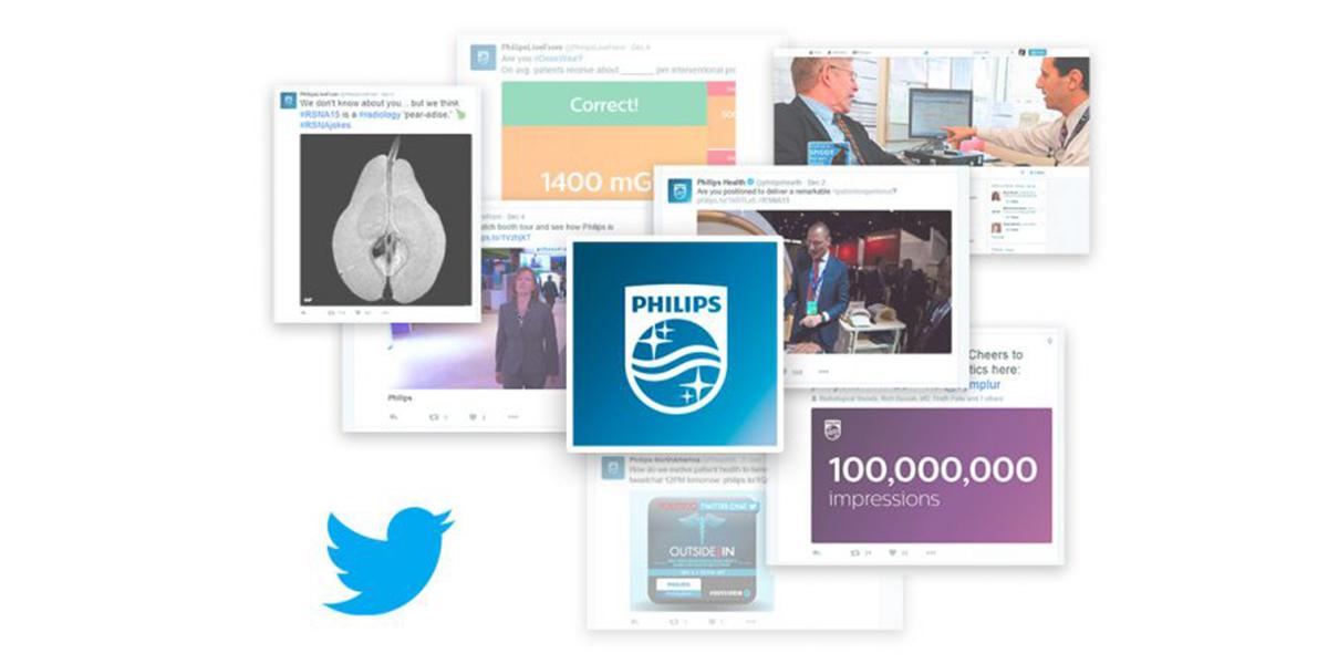 Twitter auf Speed: der Event-Feed von Philips Healthcare