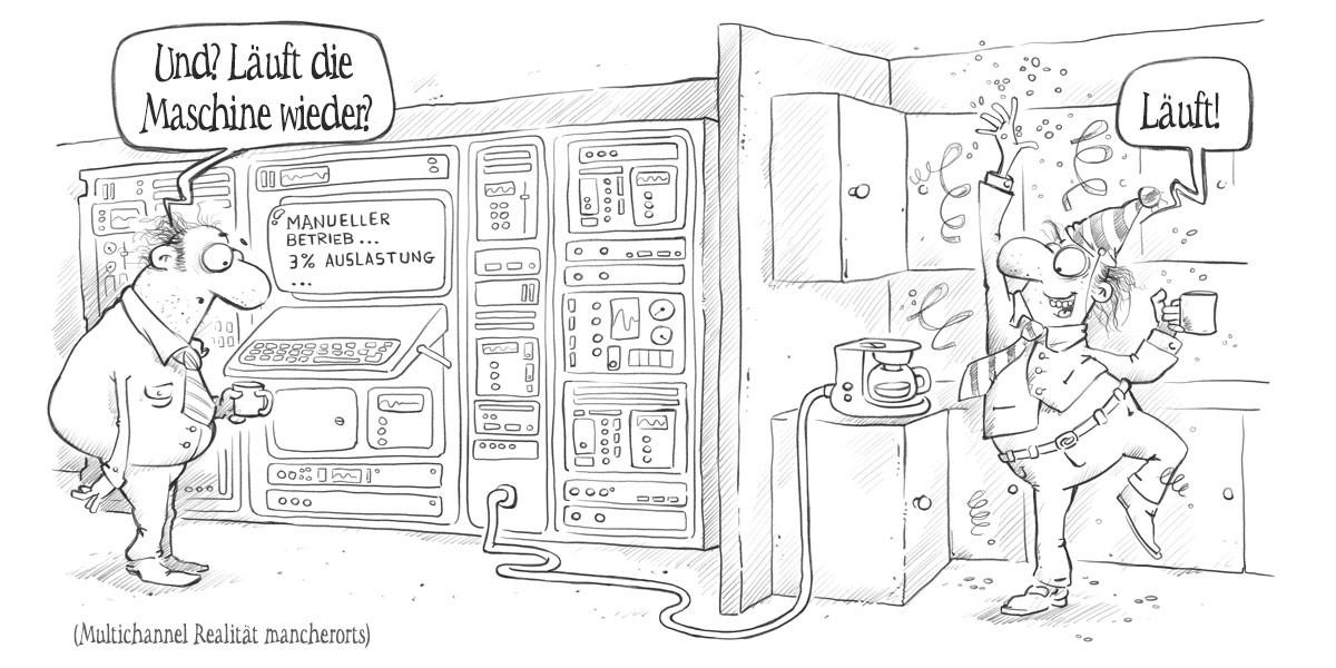 Marketing Automatisierung – ein Comic