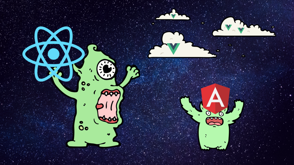 Is React eating angular? (And which one should you be using?)