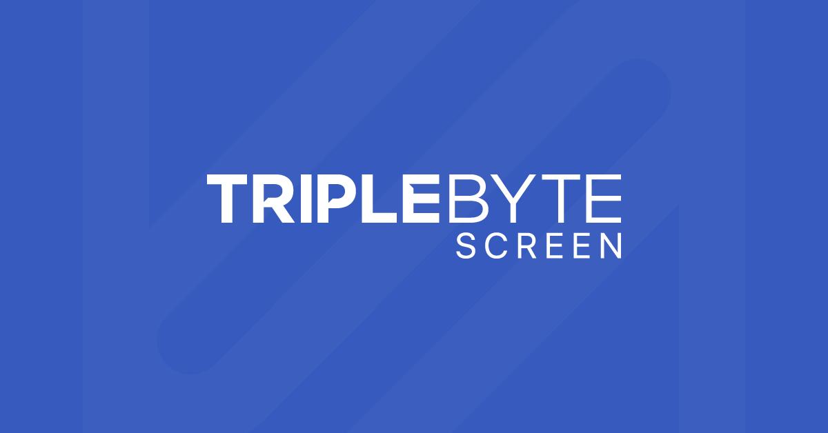 Introducing Triplebyte Screen