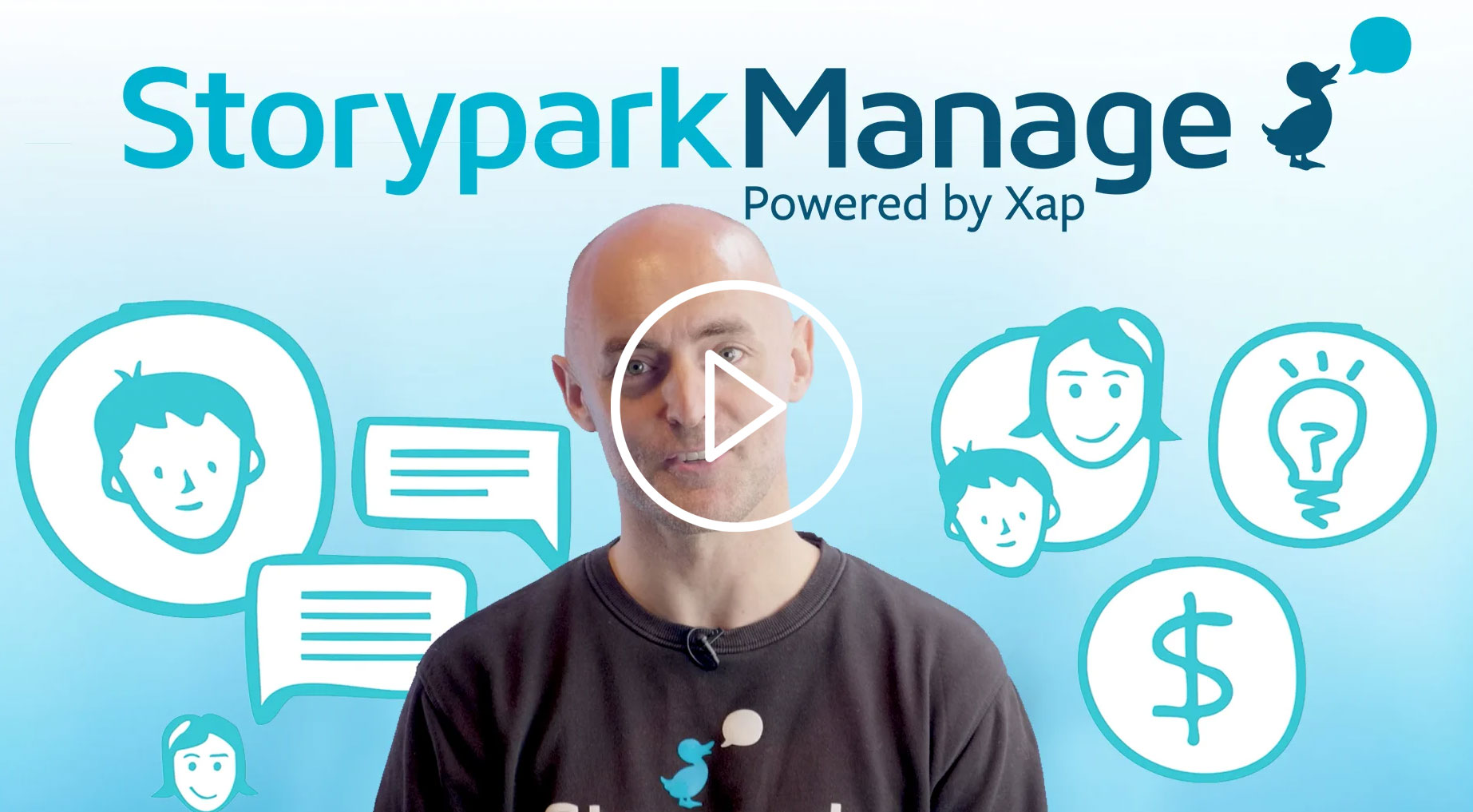 Storypark Manage video with Peter Dixon screenshot