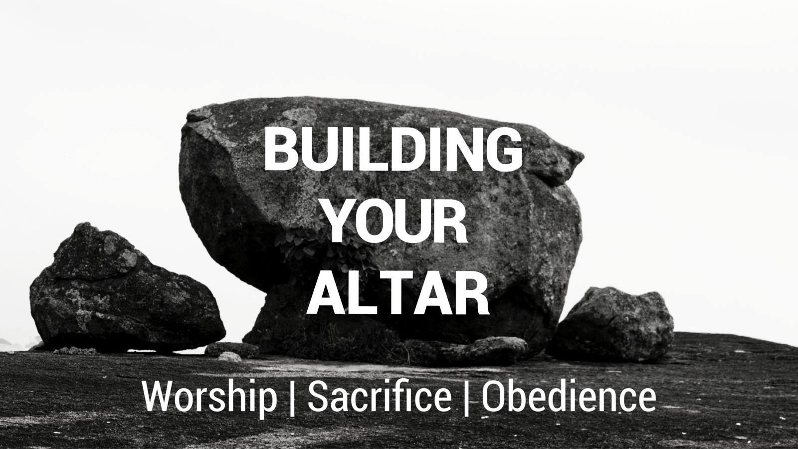 Building Your Altar