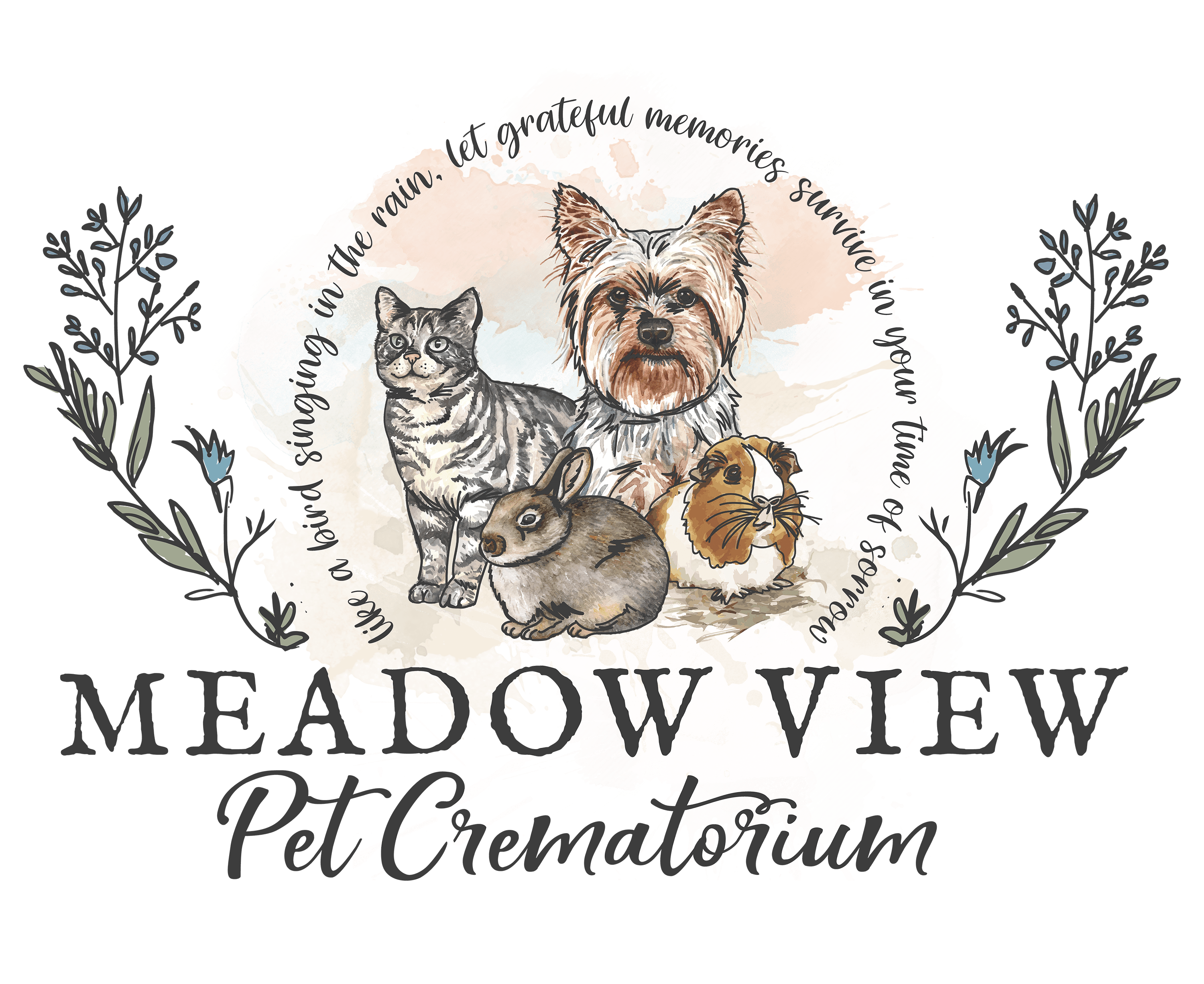 Meadow View Pet Crematorium Logo