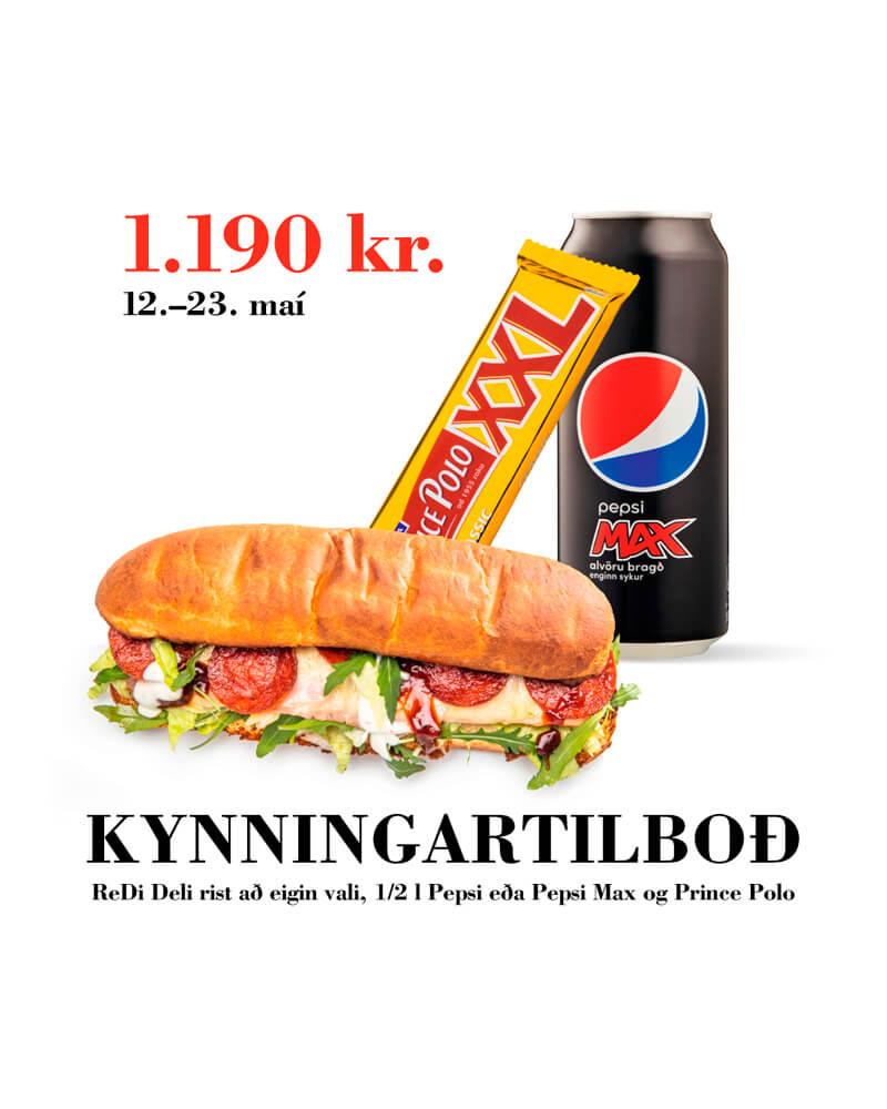 Kynningartilboð - 1190 kr.