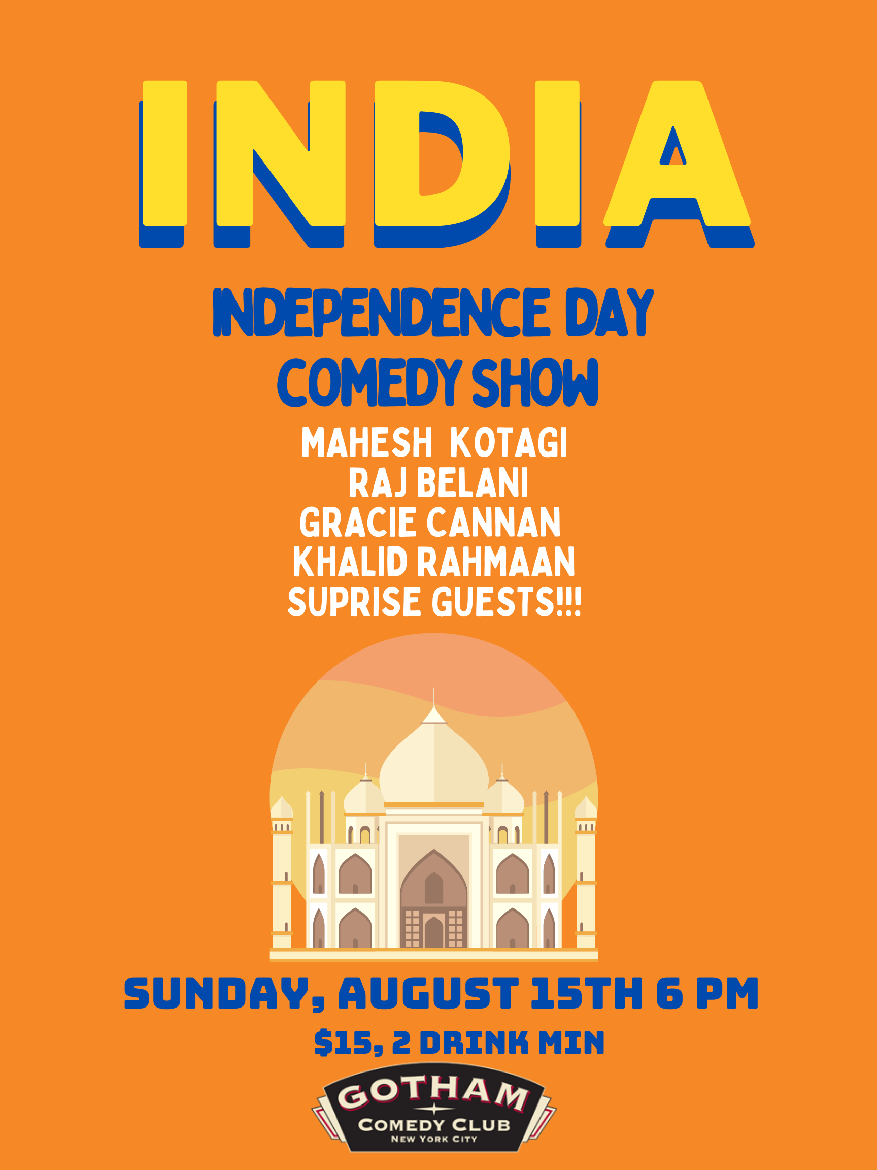 India Independence Day Comedy Show