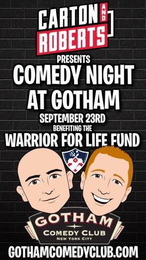 Carton & Roberts Night of Comedy