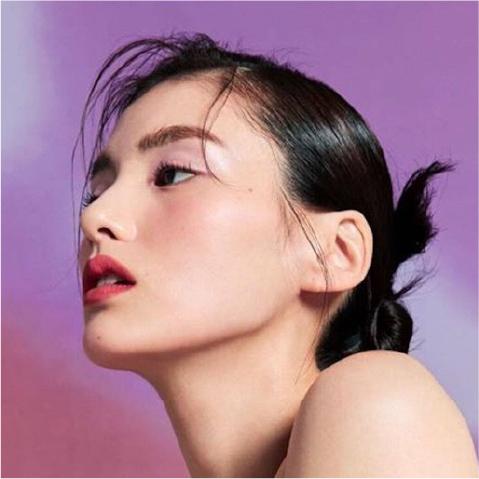 close up profile shot of a woman