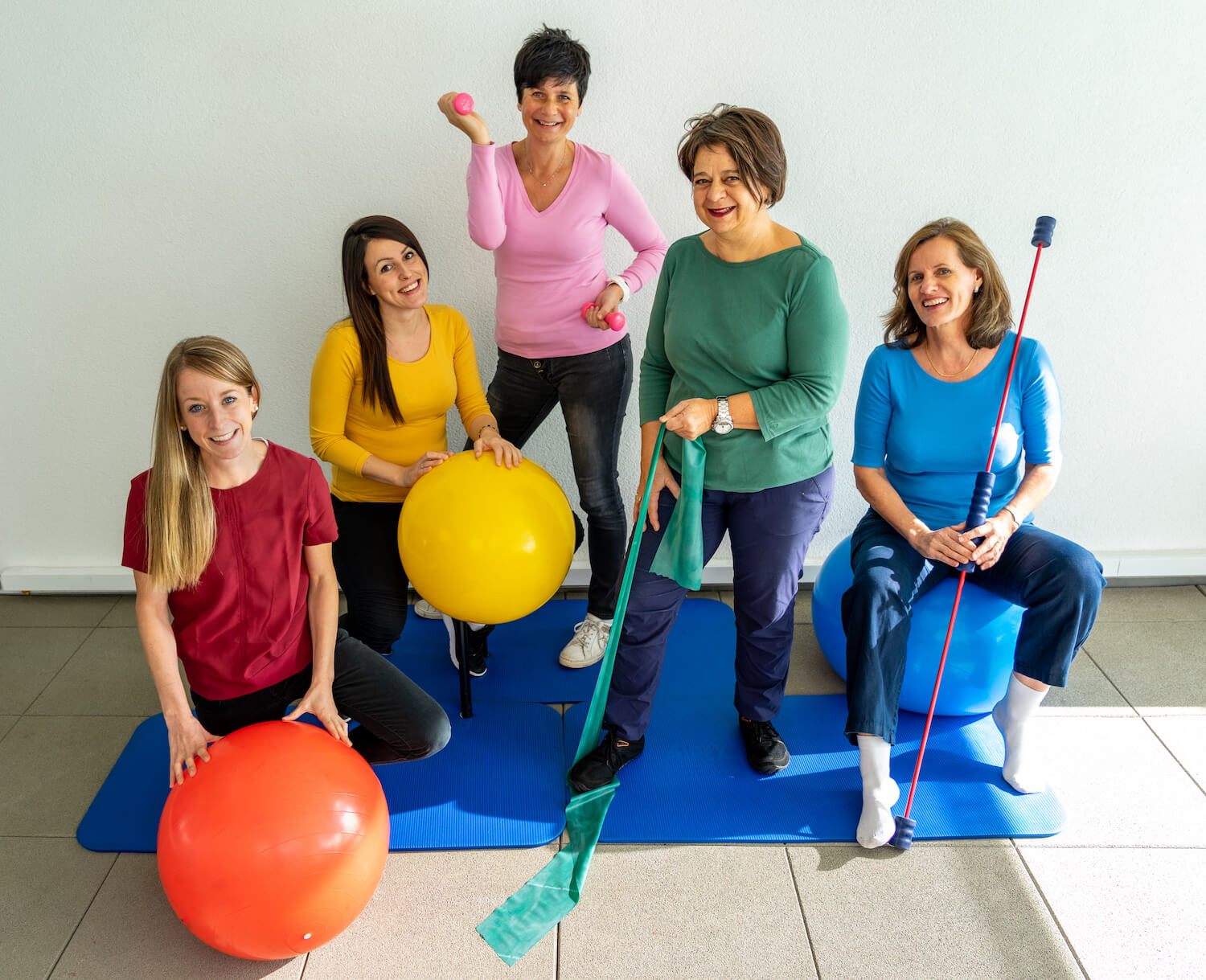 Fisio Erni - our team is composed of 3 qualified physiotherapists