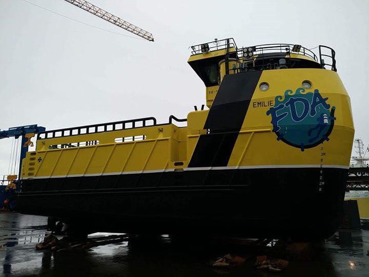 BN 236 klar for levering ved Fitjar Mekaniske